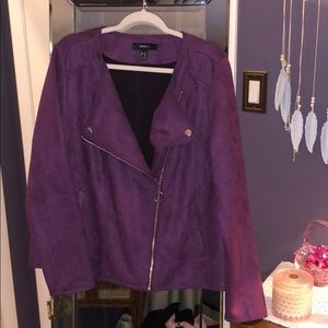 NWOT Purple Blazer